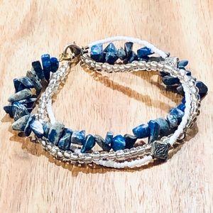 Jewelry - Triple strand twisted bracelet